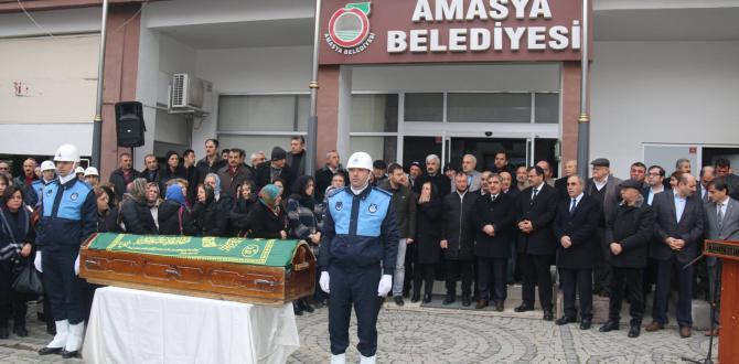Eski Amasya Belediye Başkanı Süleyman Taşdemir Son Yolculuğuna Uğurlandı