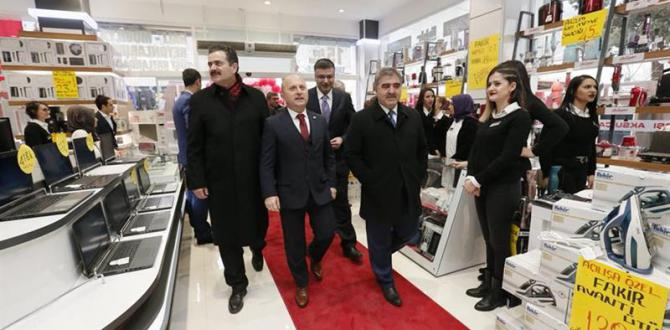 Belediye Başkanımız Cafer Özdemir Özel Bir İşletmenin Açılış Törenine İştirak Etti