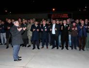 AFRİN ŞEHİDİMİZİ MEMLEKETİ HAVZA'YA UĞURLADIK