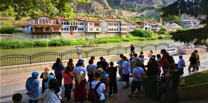 amasya yerli ve yabancı turistler tarafından ziyaretçi akınına uğradı