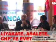 LİYAKATE ASALETE CHP'YE EVET
