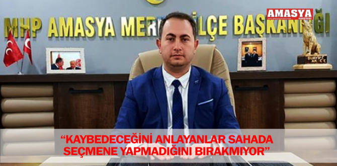 """""""KAYBEDECEĞİNİ ANLAYANLAR SAHADA SEÇMENE YAPMADIĞINI BIRAKMIYOR"""""""