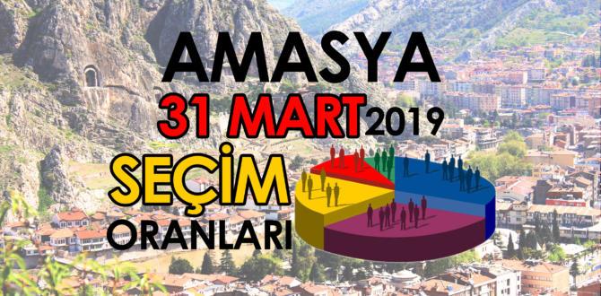Amasya seçim sonuçları – 31 MART 2019 YEREL Seçimleri oy oranları