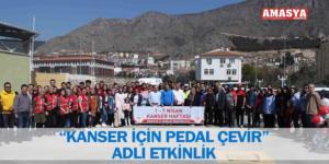 """""""KANSER İÇİN PEDAL ÇEVİR"""" ADLI ETKİNLİK"""