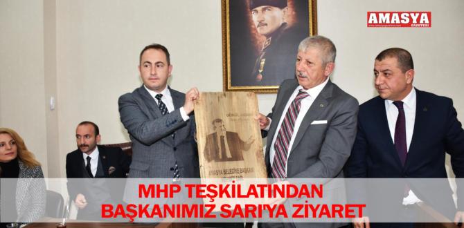 MHP TEŞKİLATINDAN BAŞKANIMIZ SARI'YA ZİYARET