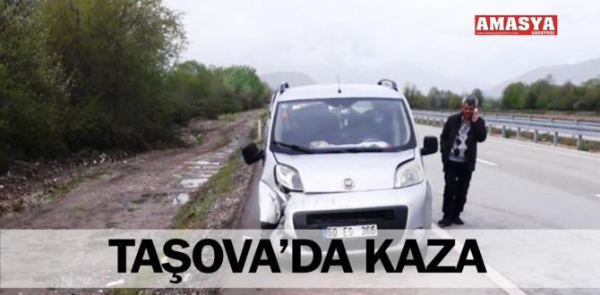 TAŞOVA'DA KAZA