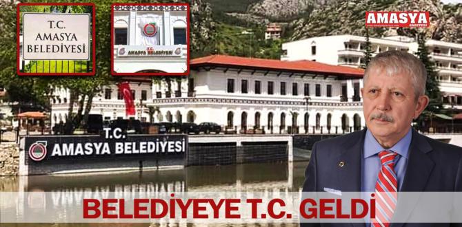 BELEDİYEYE T.C. GELDİ