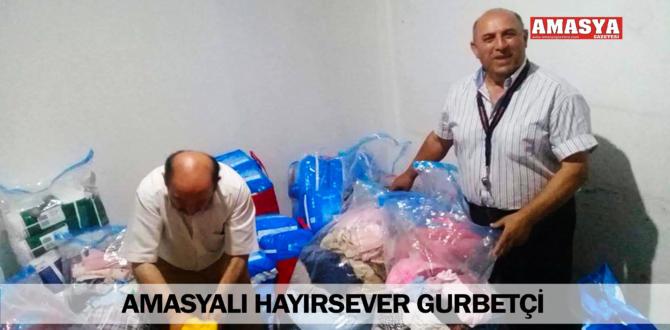 AMASYALI HAYIRSEVER GURBETÇİ