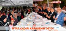 İFTAR ÇADIRI KARASENİR'DEYDİ
