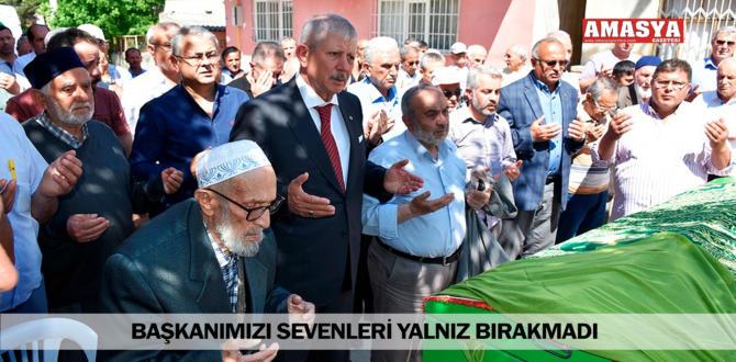 BAŞKANIMIZI SEVENLERİ YALNIZ BIRAKMADI