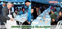 HERKES BİRBİRİYLE HELALLEŞSİN