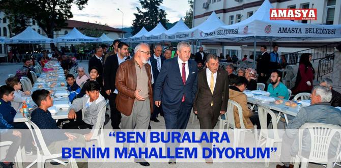 """""""BEN BURALARA BENİM MAHALLEM DİYORUM"""""""