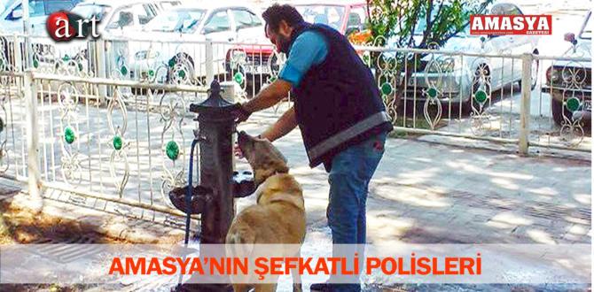 AMASYA'NIN ŞEFKATLİ POLİSLERİ