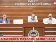 ATSO MECLİS TOPLANTISI GERÇEKLEŞTİ