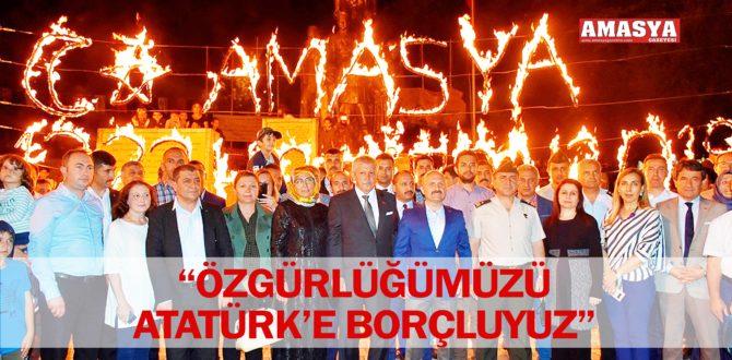 """""""ÖZGÜRLÜĞÜMÜZÜ ATATÜRK'E BORÇLUYUZ"""""""