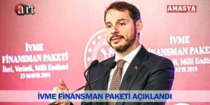 İVME FİNANSMAN PAKETİ AÇIKLANDI