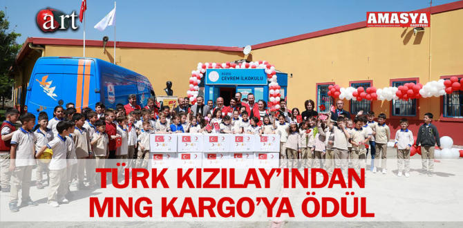TÜRK KIZILAY'INDAN MNG KARGO'YA ÖDÜL