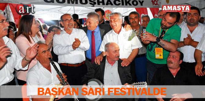 BAŞKAN SARI FESTİVALDE