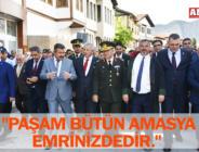 """PAŞAM BÜTÜN AMASYA EMRİNİZDEDİR."""
