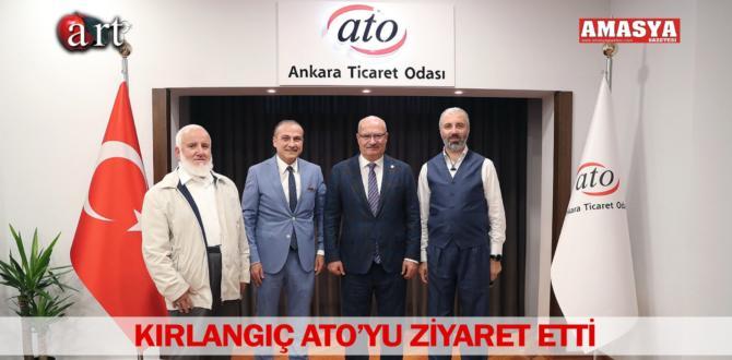 KIRLANGIÇ ATO'YU ZİYARET ETTİ