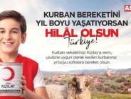 """""""KURBAN'IN BEREKETİNİ YIL BOYU YAŞATABİLİYORSAN HİLAL OLSUN AMASYA"""""""