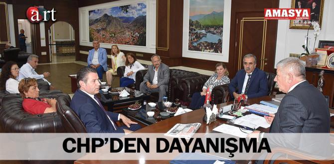 CHP'DEN DAYANIŞMA