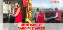 3876 HANEYE YARDIM ZİYARETİ