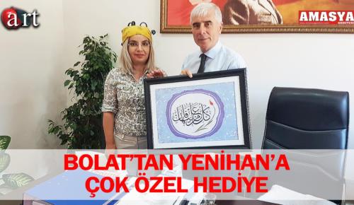 BOLAT'TAN YENİHAN'A ÇOK ÖZEL HEDİYE