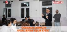 """""""ÖĞRENCİLERİMİZİN HAYALLERİNE EŞLİK ETTİK"""""""