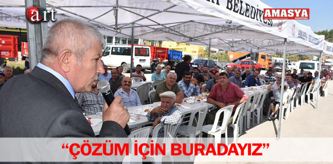 """""""ÇÖZÜM İÇİN BURADAYIZ"""""""