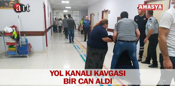 YOL KANALI KAVGASI BİR CAN ALDI
