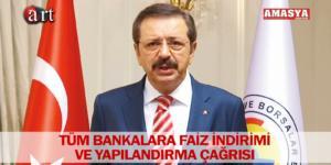TÜM BANKALARA FAİZ İNDİRİMİ VE YAPILANDIRMA ÇAĞRISI