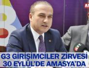 G3 GİRİŞİMCİLER ZİRVESİ 30 EYLÜL'DE AMASYA'DA