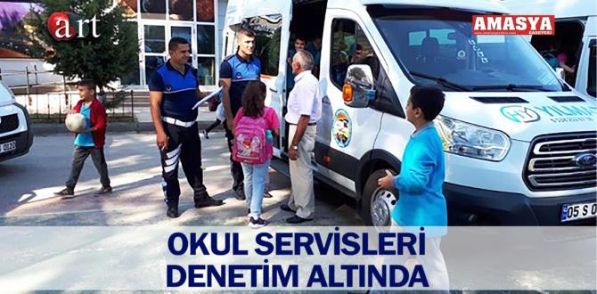 OKUL SERVİSLERİ DENETİM ALTINDA