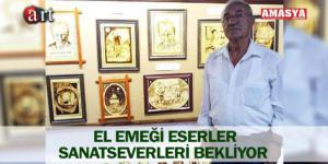 EL EMEĞİ ESERLER SANATSEVERLERİ BEKLİYOR