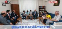 ŞEHZADE ÇOCUKEVİNİ ZİYARET ETTİ.