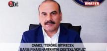 """CAMCI, """"TERÖRÜ BİTİRECEK BARIŞ PINARI HAREKATINI DESTEKLİYORUZ"""""""