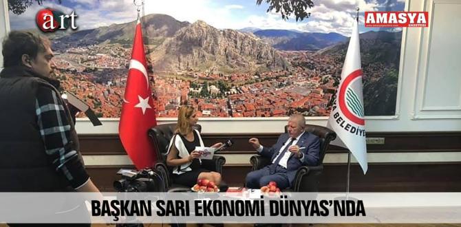 BAŞKAN SARI EKONOMİ DÜNYAS'NDA