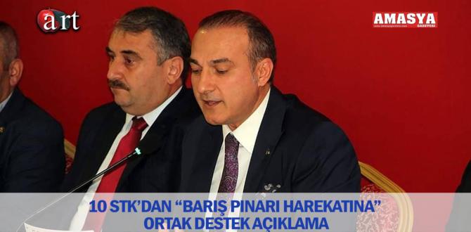 """10 STK'DAN """"BARIŞ PINARI HAREKATINA"""" ORTAK DESTEK AÇIKLAMASI"""