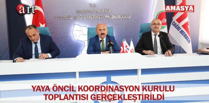 İL KOORDİNASYON KURULU TOPLANTISI GERÇEKLEŞTİRİLDİ