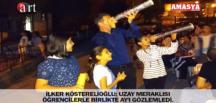 İLKER KÖSTERELİOĞLU UZAY MERAKLISI ÖĞRENCİLERLE BİRLİKTE AY'I GÖZLEMLEDİ