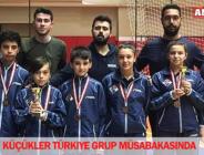 Küçükler Türkiye Grup müsabakasında