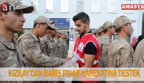KIZILAY'DAN BARIŞ PINAR HAREKATINA DESTEK