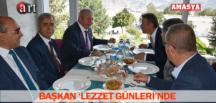 BAŞKAN 'LEZZET GÜNLERİ'NDE