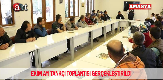 EKİM AYI TANKÇI TOPLANTISI GERÇEKLEŞTİRİLDİ
