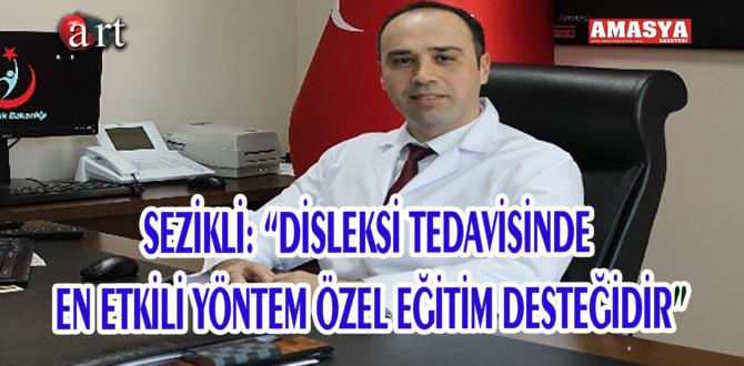 """SEZİKLİ: """"DİSLEKSİ TEDAVİSİNDE EN ETKİLİ YÖNTEM ÖZEL EĞİTİM DESTEĞİDİR"""""""
