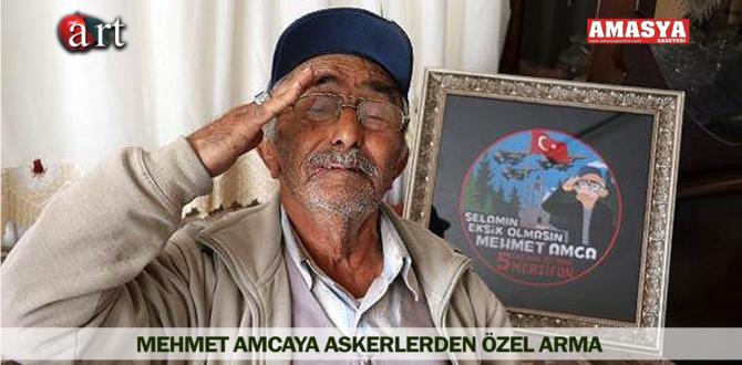 MEHMET AMCAYA ASKERLERDEN ÖZEL ARMA