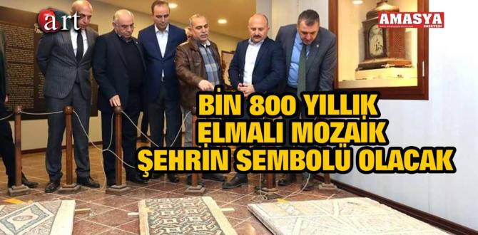 BİN 800 YILLIK ELMALI MOZAİK ŞEHRİN SEMBOLÜ OLACAK