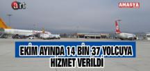 EKİM AYINDA 14 BİN 37 YOLCUYA HİZMET VERİLDİ
