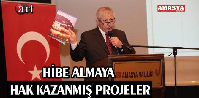 HİBE ALMAYA HAK KAZANMIŞ PROJELER